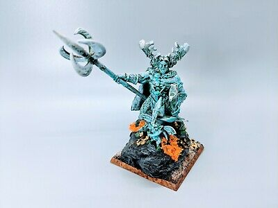 $125 • Buy Warhammer Fantasy Army Wood Elf Elves PRO Painted ORION King Of The Woods RARE