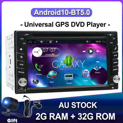 AU265.99 • Buy Android 10.0 Double 2Din Car DVD Player Radio Stereo Head Unit GPS NAV DAB+ WIFI