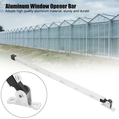 39cm Aluminum Manual Window Stay Kit Roof Vent Opener Bar Greenhouses Accessory • 5.91£