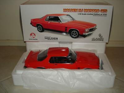 AU499.95 • Buy 1:18 Classic Holden HJ Monaro GTS 308 Coupe In Mandarin Red