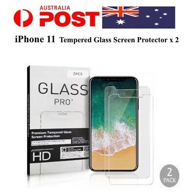 AU3.89 • Buy 2 X IPhone 11 Screen Protector Tempered Glass For Apple IPhone