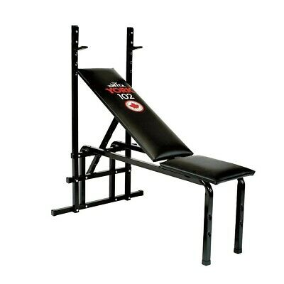 York Fitness Weightlifting Flat / Incline Bench Press + Rack (free Shipping) • 140£