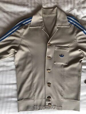 Vintage Early Adidas Trefoil GEORG SCHWAHN Leisure Wear Fitted Sports Track Top • 185£