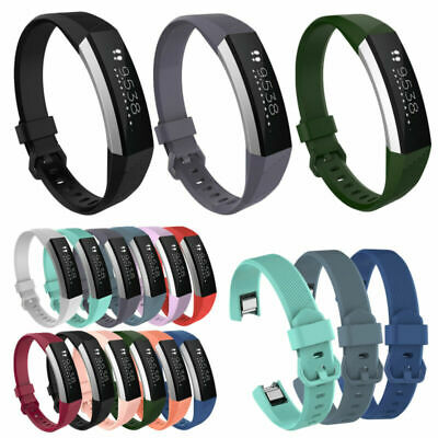 AU9.55 • Buy Sports Silicone Replacement Wrist Band Buckle Strap Bracelet For Fitbit Alta HR