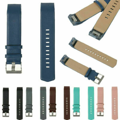 AU8.29 • Buy Genuine Leather Watch Band Wrist Strap For Fitbit Charge 2 Wristband Bracelet BE