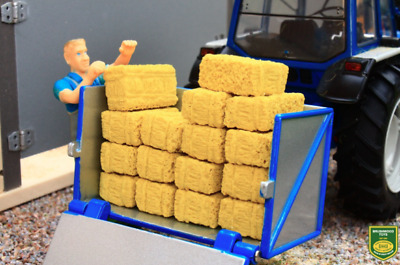 Brushwood Toys Small Square Bales (x16) 1:32 Scale Farm Diorama **new** Bt3053 • 9.95£