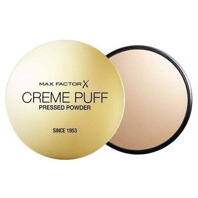Max Factor Creme Puff Compact Powder  55 CANDLE GLOW • 5.25£