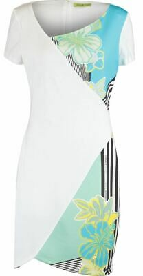 £74.99 • Buy Versace Jeans Women's Stripes And Flower Dress - Stretch, Lined