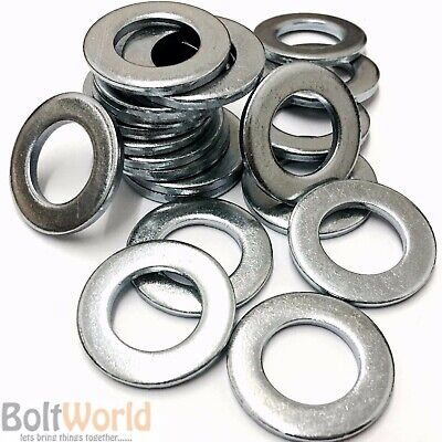 £2.45 • Buy Imperial Flat Thick Washers To Fit Unf, Unc, Bsf, Bsw, Bscy Bolts & Screws Zinc