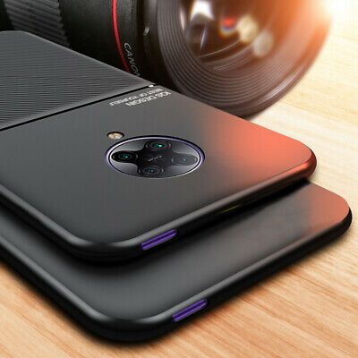 AU7.27 • Buy For Xiaomi POCO F2 Pro Magnetic Metal Leather Slim Back Case Cover