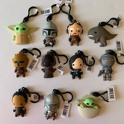 $21.99 • Buy Star Wars The Mandalorian 3D Bag Clip Keychain From Blind Bag Your Choice