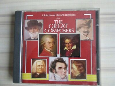 The Great Composers CD • 1£
