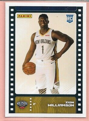 $17.99 • Buy 2019-20 Panini Sticker Collection ZION WILLIAMSON RC Base (Card) # 81 Pelicans