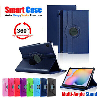 AU11.49 • Buy 360 Rotate Smart Stand Flip Case Cover For Samsung Galaxy Tab S6 Lite P610 /P615