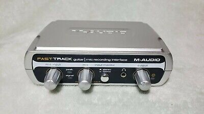 $59.99 • Buy Excellent Condition M-Audio Fast Track With USB Cable