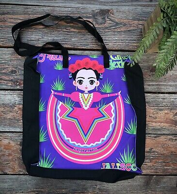$18 • Buy Frida Kahlo Jalisco Beach Tote Bag