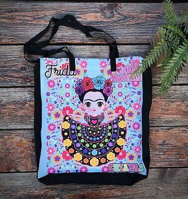 $18 • Buy Frida Kahlo Chiapas Beach Tote Bag