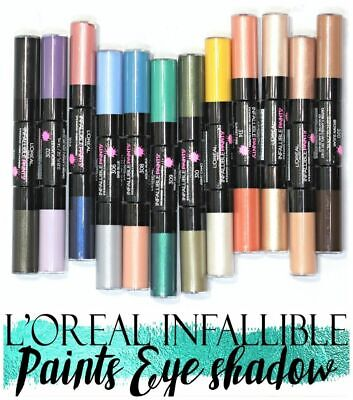 L'Oreal Paints Infallible Eye Shadow Duo. CHOOSE SHADE. MULTI BUY DISCOUNT. • 12.99£