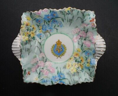 A Shelley  Melody Chintz  692 Auxiliary Territorial Service (ATS) Trinket Dish. • 19.99£