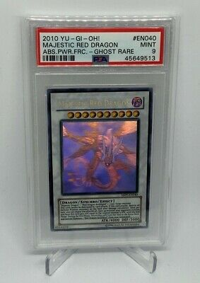 AU281.30 • Buy Majestic Red Dragon ABPF-040 [Ghost Rare PSA MINT 9] Absolute Powerfor Yu-Gi-Oh!