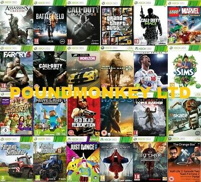 £4.99 • Buy Xbox 360 Games Buy 1 Or Bundle Up - Very Good Super Fast Delivery