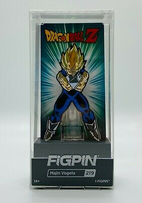 $14.99 • Buy Majin Vegeta Figpin Dragonball Z #219 Toy Temple Nycc 2019 Exclusive In Hand