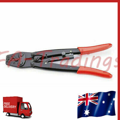 AU23.99 • Buy 1.25-16mm² Cable Battery Lug Anderson Plug Crimping Crimper Tool Bare Terminal