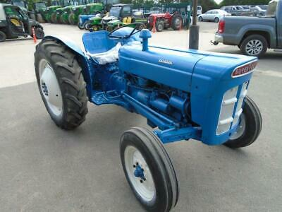 Fordson Super Dexta Vintage Tractor Classic Barn Find • 4,000£