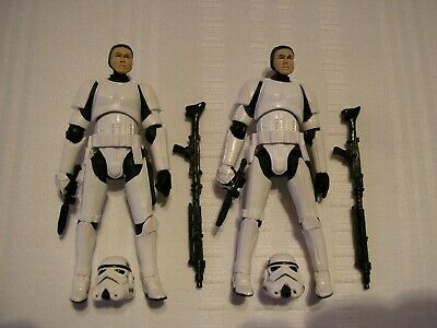 $ CDN59.99 • Buy Lot Of 2 Star Wars Vintage Collection VC41 STORMTROOPER Figures LOOSE