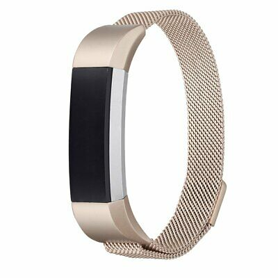 $ CDN7.99 • Buy New UMTELE Fitbit Alta HR Milanese Stainless Steel Champagne Gold Band Sz Small