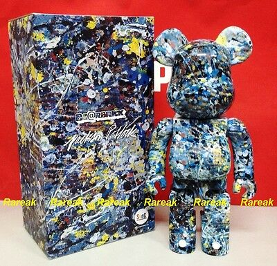 $432.99 • Buy Medicom 2016 Be@rbrick Jackson Pollock Studio 400% Spray Pattern Bearbrick 1pc