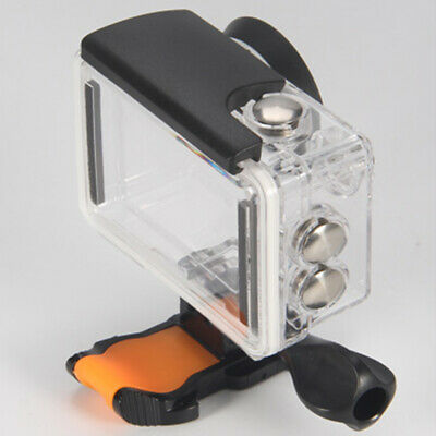 Action Camera Use Underwater Photograph Waterproof Case Transparent For EKEN H9R • 5.99£