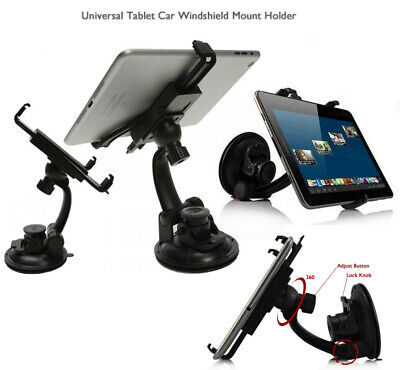 Car Dashboard IPad Mount Holder 360 Rotation For All Apple IPad Samsung Galaxy • 6.99£