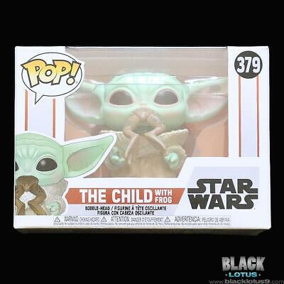 $14.79 • Buy Funko Pop! Star Wars The Child With Frog Mandalorian Baby Yoda IN STOCK Pop 379