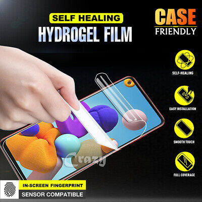 AU3.99 • Buy For Samsung Galaxy A11 A12 A21s A42 Hydrogel Full Cover Screen Protector Guard