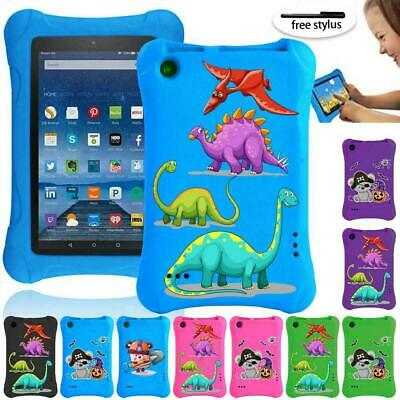 For Amazon Kindle Fire 7  5/7/9th -Colourful Patterns EVA Kids Tablet Cover Case • 9.99£