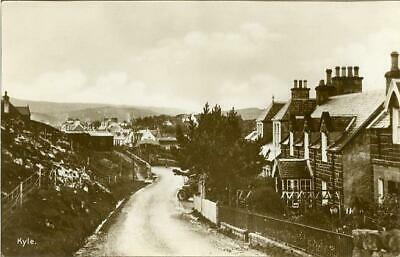 Real Photographic Postcard Of Kyle Of Lochalsh Village, Ross-shire, Scotland • 6£
