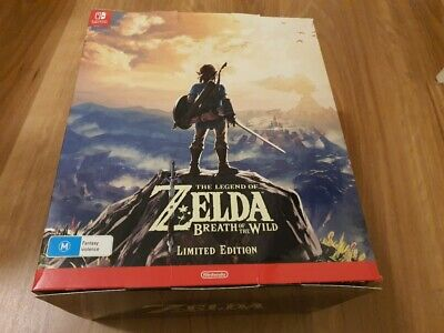 AU359.95 • Buy The Legend Of Zelda Breath Of The Wild Limited Edition , Nintendo Switch , NEW