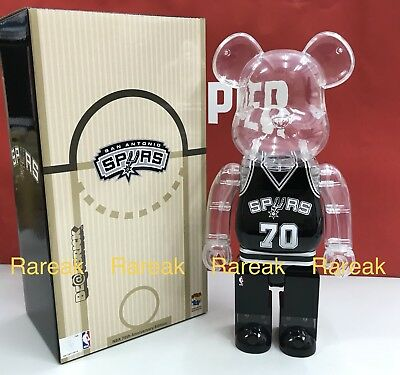 $175.99 • Buy Medicom Be@rbrick NBA X Milk Magazine 400% San Antonio SPURS Bearbrick 1pc
