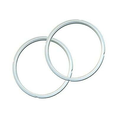 $12.49 • Buy Genuine Instant Pot Sealing Ring 2 Pack Clear 8 Quart