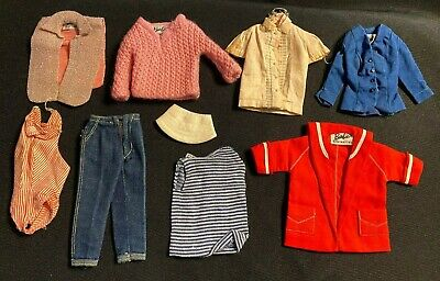 $ CDN13.59 • Buy Vintage 1960's Mattel Barbie Doll Tagged Outfit Pieces Lot Group