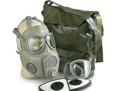 $50 • Buy Military Czech Gas Mask M10M With Filter Emergency Survival
