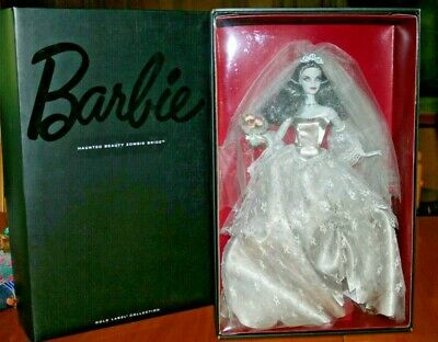 2015 Haunted Beauty™ Zombie Bride™ Barbie® Doll-Gold Label-1 Of 6,600-New • 398.86£