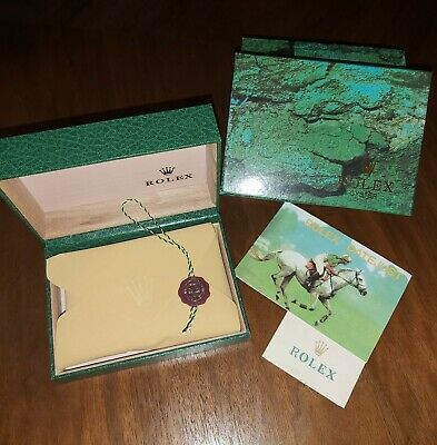 $ CDN67.87 • Buy Vintage ROLEX Watch Box Set Lot Presentation