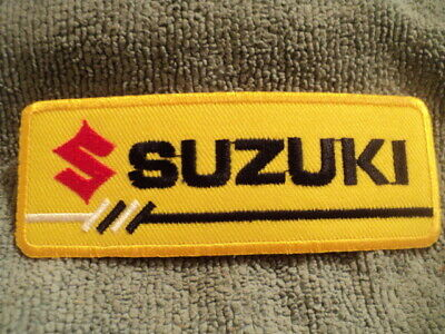 $1.99 • Buy Patch SUZUKI, Embroidered Logo, New Condition