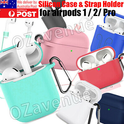 AU5.55 • Buy Shockproof For Apple AirPods 1 2 Pro 3 Case Cover Skin Slim Silicone Holder AU