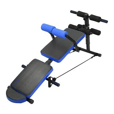Adjustable Foldable Sit Up Bench Home Gym Exercise Fitness Multi Decline Bench • 49.99£