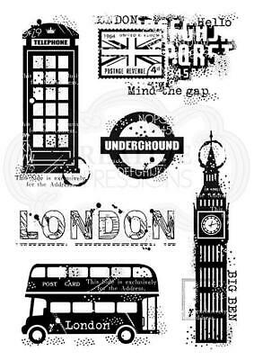 Woodware Clear Stamp London Elements By Francoise Read FRS790 • 6£