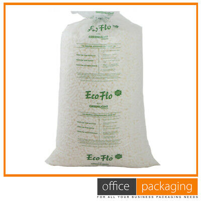 £34.14 • Buy ECOFLO High Quality Biodegradable Loose Void Fill Packing Peanuts All Quantities