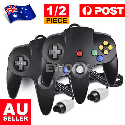 AU27.95 • Buy New Classic Controller Games Gamepad Joystick For Nintendo 64 N64 System Console